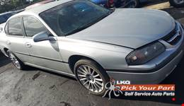 2002 CHEVROLET IMPALA partes disponibles