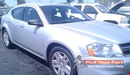 2012 DODGE AVENGER partes disponibles