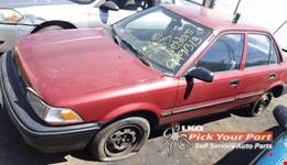 1989 TOYOTA COROLLA available for parts