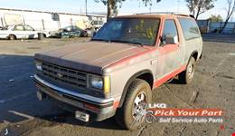 1986 CHEVROLET S10 BLAZER available for parts