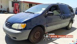 2002 TOYOTA SIENNA available for parts