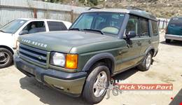 2001 LAND ROVER DISCOVERY available for parts