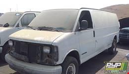 1998 GMC SAVANA 3500