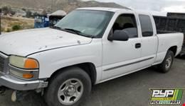 2003 GMC SIERRA 1500 partes disponibles