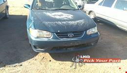 2001 TOYOTA COROLLA available for parts