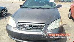 2007 TOYOTA COROLLA available for parts
