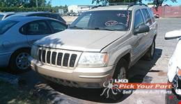 1999 JEEP GRAND CHEROKEE available for parts
