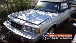 1986 DODGE 600 available for parts