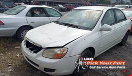 2007 KIA SPECTRA available for parts