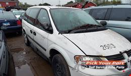 2005 DODGE GRAND CARAVAN available for parts