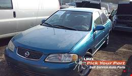 2003 NISSAN SENTRA available for parts