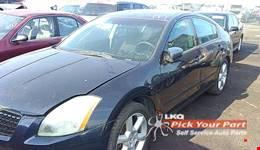 2005 NISSAN MAXIMA available for parts