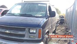 2001 CHEVROLET EXPRESS 1500 available for parts