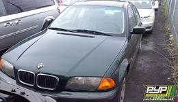 2001 BMW 325I partes disponibles