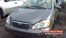 2006 TOYOTA COROLLA available for parts