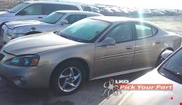 2004 PONTIAC GRAND PRIX available for parts