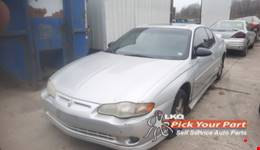 2002 CHEVROLET MONTE CARLO available for parts
